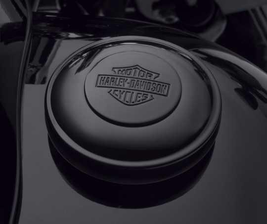 Harley-Davidson Fuel Cap Bar & Shield Logo Self-Locking black  - 61100117