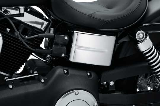 Harley-Davidson Abdeckungen für Batterie und Elektrikkonsole chrom  - 61300186