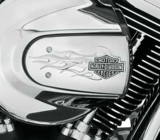 Harley-Davidson Flames Air Cleaner Trim chrome  - 61300221