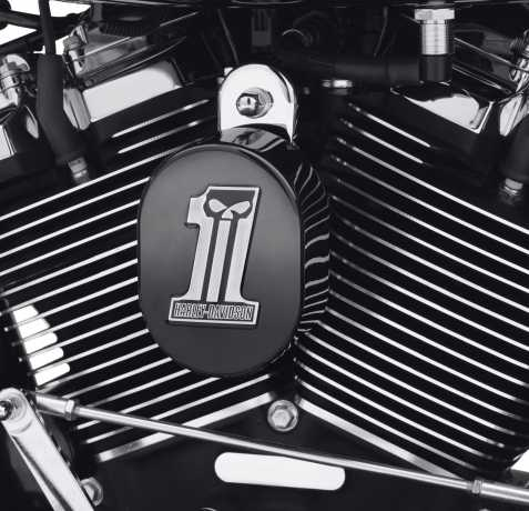 Harley-Davidson Dark Custom Horn Cover  - 61300621