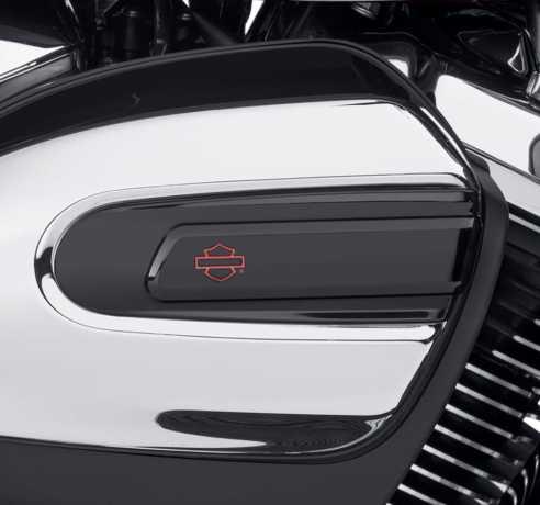Harley-Davidson Kahuna Luftfilter Zierblende schwarz  - 61300928