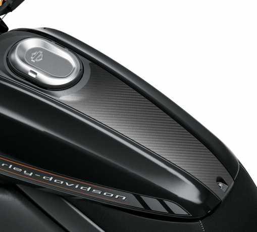Harley-Davidson Tank Trim Cover Carbon  - 61301076