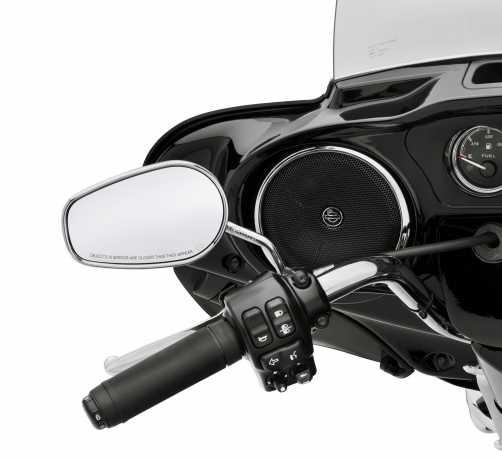Harley-Davidson Boom! Audio Lautsprecher-Verzierung Vorn, chrom  - 61400193