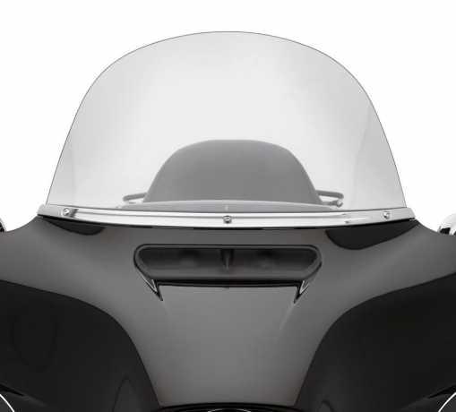 Harley-Davidson Windschutzscheibenverkleidung Gerillt chrom  - 61400224