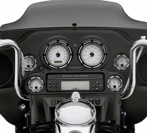 Harley-Davidson Burst Gauge Bezel Kit  - 61400260
