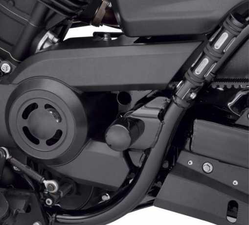 Harley-Davidson Schwingen Achsbolzen-Cover schwarz  - 61400269