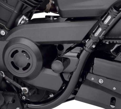 Harley-Davidson Swingarm Pivot Bolt Covers gloss black  - 61400269