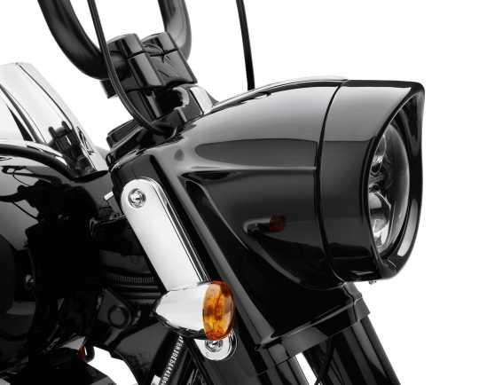 """Harley-Davidson Zierschirm für 7"""" Visor Style Scheinwerfer schwarz  - 61400293"""