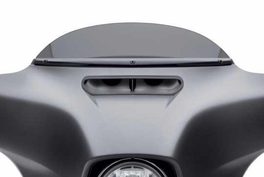 Harley-Davidson Windshield Trim gloss black  - 61400325