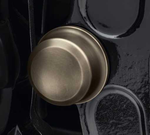 Harley-Davidson Brass / Messing Schwingenachs-Cover  - 61400346
