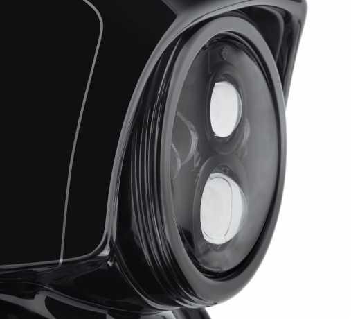 "Harley-Davidson Defiance Headlamp Trim Ring 7"" black  - 61400348"