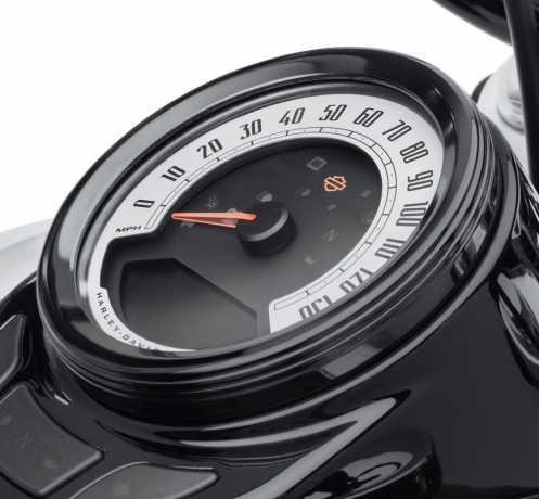 """Harley-Davidson Defiance Instrumenten Zierring 4"""" schwarz  - 61400437"""