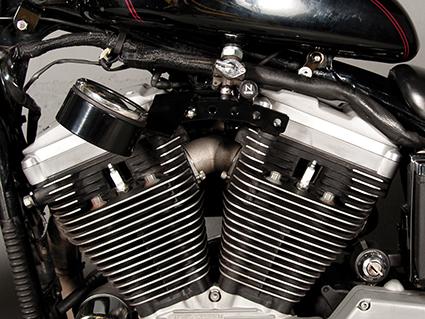 ODC ODC Zylinderhalterung für seitlichen Tacho mit Choke  - 61-8386