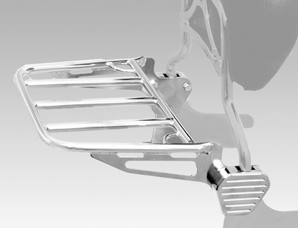 Motherwell Motherwell  2-Up Sissy Bar Rack chrome  - 62-1105