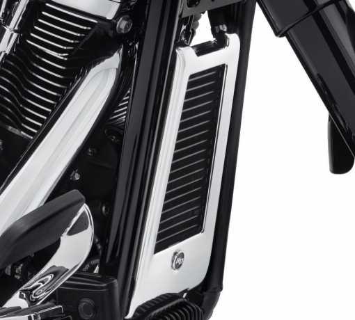 Harley-Davidson Ölkühler Abdeckung, chrom  - 62500026