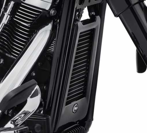 Harley-Davidson Oil Cooler Cover, black  - 62500027