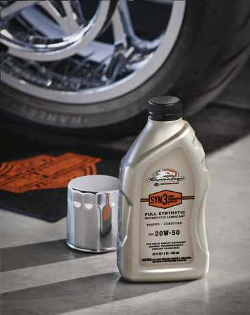 Harley-Davidson H-D Screamin' Eagle Syn3 Motorcycle Oil 20W50 Full Synthetic  - 62600015
