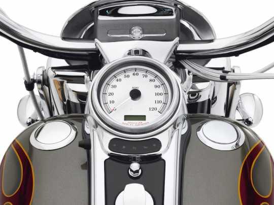 Harley-Davidson Bündiger Tankdeckel & Tankanzeige chrom  - 62823-08C
