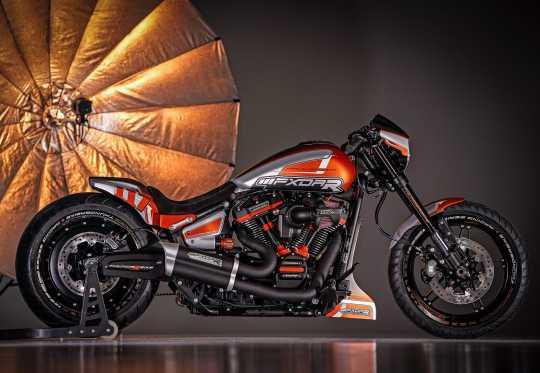 Thunderbike Shock Adjusting Knob orange  - 63-74-110