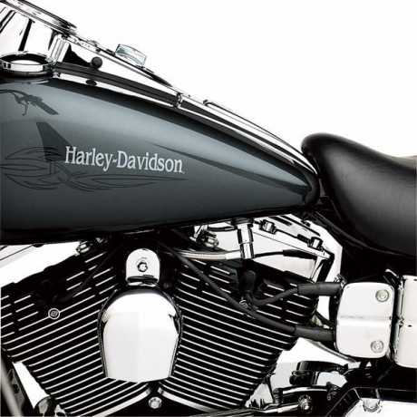 Harley-Davidson Braided Stainless Steel Fuel Line  - 63020-04
