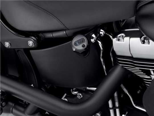 Harley-Davidson Peilstab für Ölstand & Öltemperatur mit beleuchtetem LCD schwarz  - 63055-09A