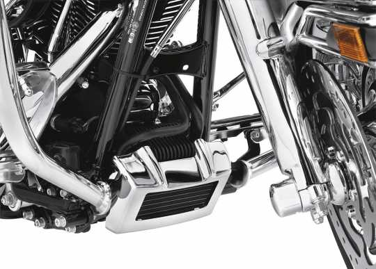 Harley-Davidson Oil Cooler Cover Kit Chrome  - 63121-11A