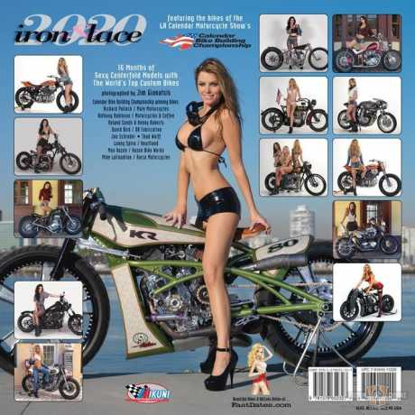 Custom Chrome Custom Chrome Calendar Iron & Lace 2020  - 64-4856