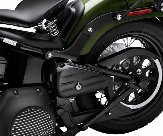 Harley-Davidson Werkzeugbox linke Seite, schwarz  - 64216-09