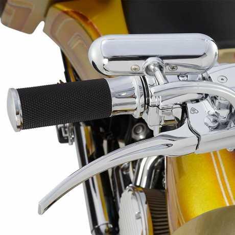 Arlen Ness Arlen Ness Micro Spiegel Mini Oval chrom  - 64-8319V
