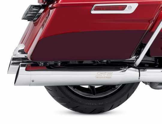 "Harley-Davidson Screamin' Eagle Street Cannon Endschalldämpfer 4.5"" ECE chrom  - 64900555A"