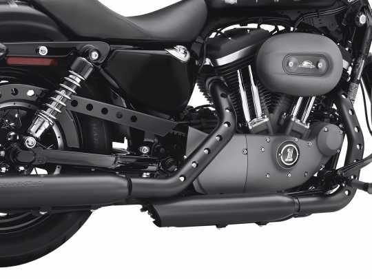 Harley-Davidson Screamin' Eagle Buckshot Exhaust Shield Kit, jet black  - 64924-09