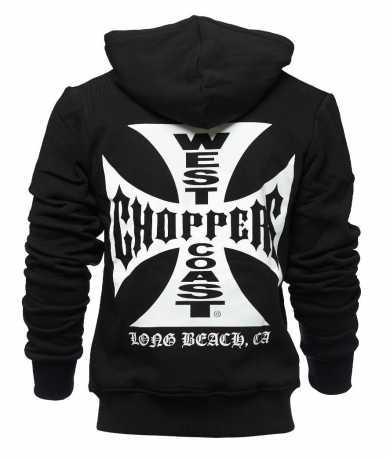West Coast Choppers West Coast Choppers Iron Cross Hoodie XXL - 987649
