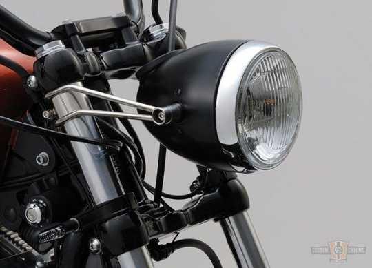 Daytona Japan Daytona Vintage Scheinwerferhalter, schwarz (39 mm)  - 65-3947