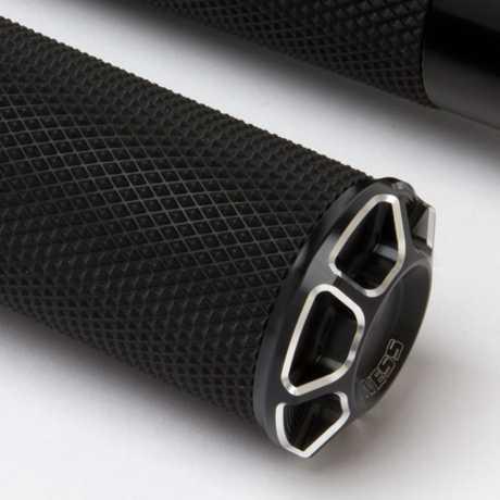 Arlen Ness Arlen Ness Beveled Fusion Griffe, schwarz  - 65-4105