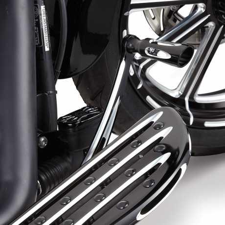 Arlen Ness Arlen Ness Deep Cut Brake Arm, black  - 65-4137