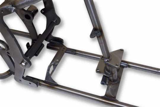 Santee Santee Softail Gooseneck Rahmen 38° bis 200mm  - 65-0054