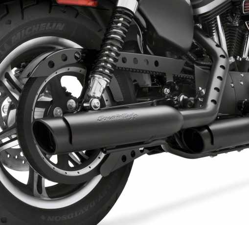 Harley-Davidson Screamin Eagle Slash Up/Down/Out 3.25 in. End Caps  - 65100063