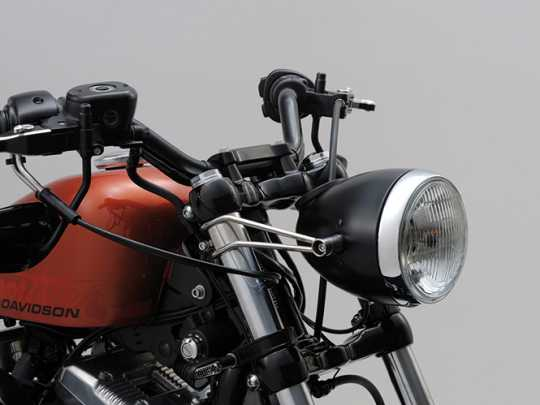 Daytona Japan Daytona Vintage Scheinwerferhalter, poliert (39 mm)  - 65-3948