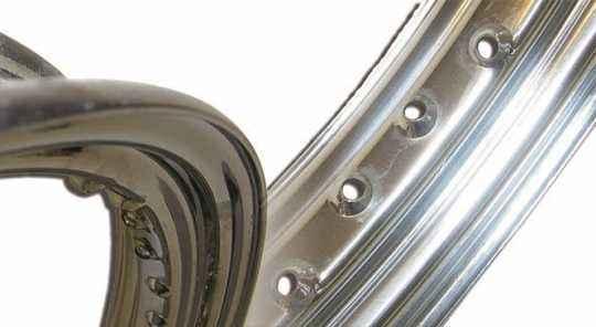 """TTS Wheels TTS Spoke Set, 17"""" long, black chrome  - 65-6011"""
