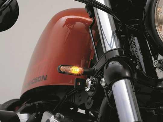 Daytona Japan Daytona D-Light Blinker chrom mit getöntem Glas  - 65-6205
