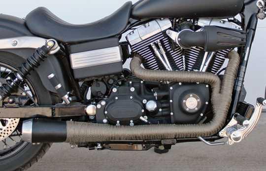 "DEI DEI Exhaust Wrap black | 2"" x 4.5m - 66-0807"