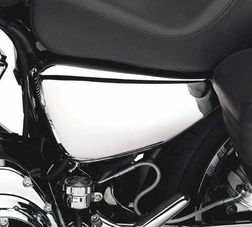 Harley-Davidson Left Side Battery Cover chrome  - 66261-04