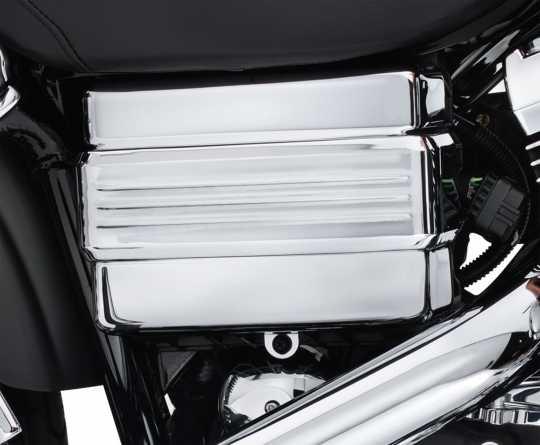 Harley-Davidson Batterieabdeckung chrom  - 66375-06