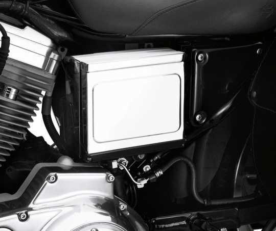 Harley-Davidson Battery Side Cover chrome  - 66718-01