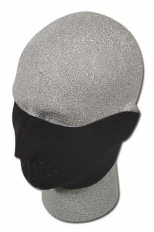 ZANheadgear ZANheadgear Neopren-Gesichtsmaske 1/2, schwarz  - 67-3232