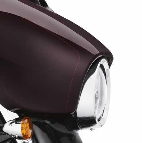 Harley-Davidson Scheinwerfer Zierring chrom  - 67700215