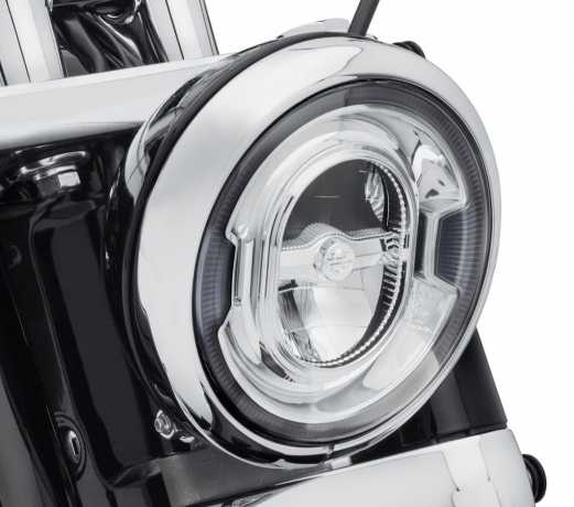 "Harley-Davidson Daymaker 7"" Signature Reflector LED Scheinwerfer chrom  - 67700353"