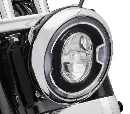 "Harley-Davidson Daymaker 7"" Signature Reflector LED Headlamp black  - 67700354A"