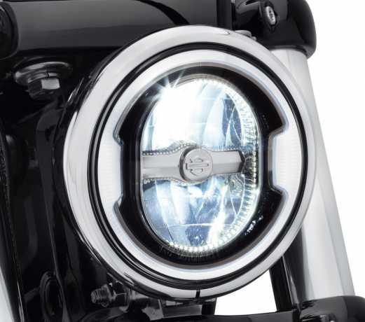 """Harley-Davidson Daymaker 5.75"""" Signature Reflector LED Headlamp black  - 67700356A"""