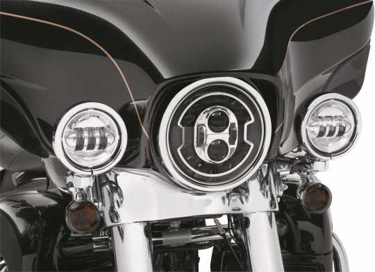 """Harley-Davidson Daymaker Adaptive 7"""" LED Scheinwerfer chrom  - 67700426"""